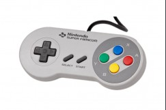 Super Famicom SNES Controller w/ Extension Cable